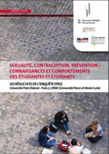 Enquête Épice sur la Contraception, prévention des IST et IVG chez les étudiants de l'UPMC et de Paris 7 (2007)