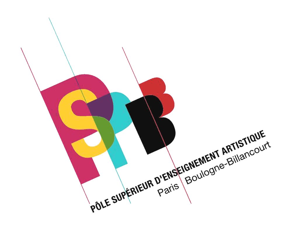 logo du Pôle supérieur d'enseignement artistique Paris Boulogne-Billancourt