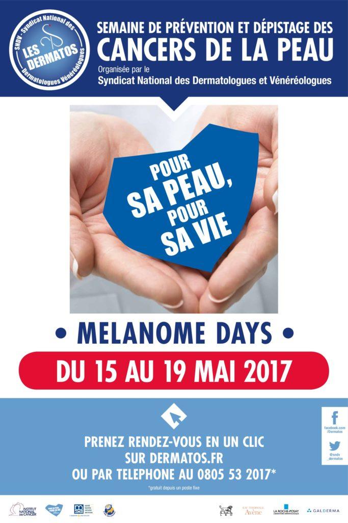 Semaine de prévention et dépistage des cancers de la peau MELANOME DAYS