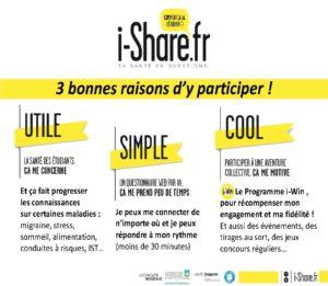 presentation i-share - santé étudiant