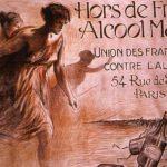 affiche union des Françaises contre l'alcool - santé étudiant